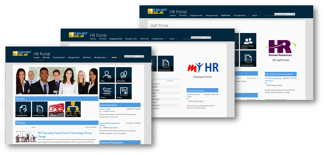Human Resources Web Design